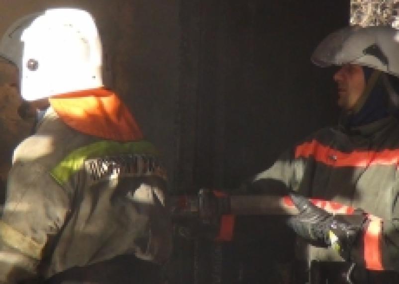 В Смоленске произошел пожар на территории музейного комплекса «Теремок»
