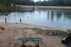 Реадовское озеро облагородят грибками и скамейками в пляжный сезон