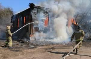В Смоленске в пожаре погибли три человека