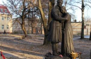 В Рославле вандалы осквернили памятник