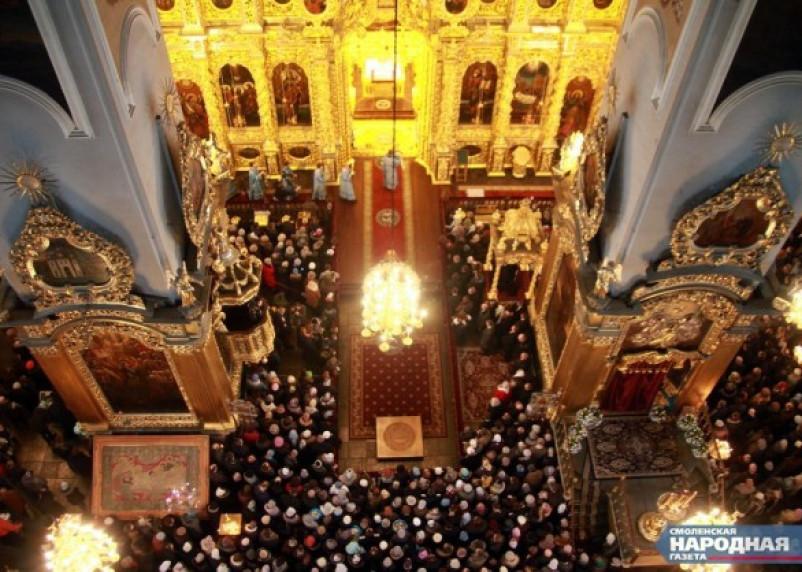 Смоленск отметит Светлое воскресенье пасхальным богослужением