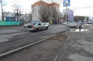 На Краснинском шоссе в Смоленске установят дорожные неровности