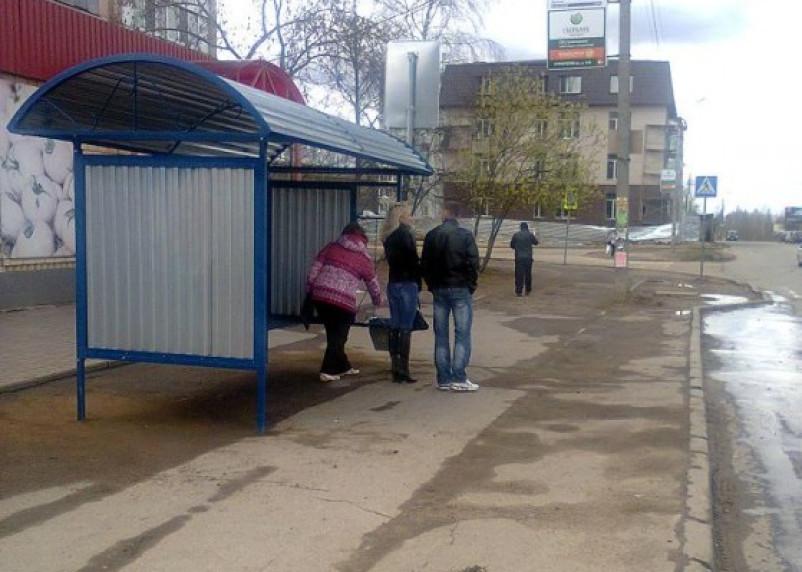 На улице Попова в Смоленске появилась новая остановка