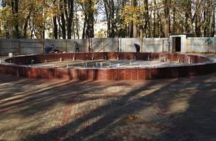 Закрытие сезона. В Смоленске отключили главный городской фонтан