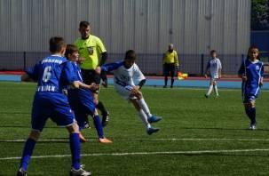 Смоленские футболисты заняли третье место