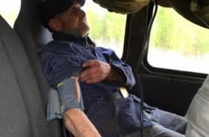 Смоленский ветеран, заблудившийся в лесу, заболел воспалением легких