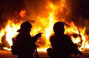 Ночью на Смоленщине горели дома