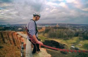 В Смоленске можно совершить прыжок с башни «Орел»