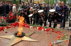 В Смоленске состоялся торжественный митинг в честь Дня Победы