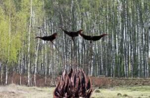 В Демидове открыт памятник советским солдатам
