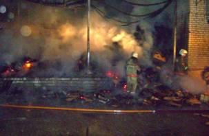В Смоленской области горят магазины