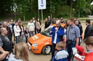 В Лопатинский сад приехали гоночные болиды РСКГ. Фоторепортаж