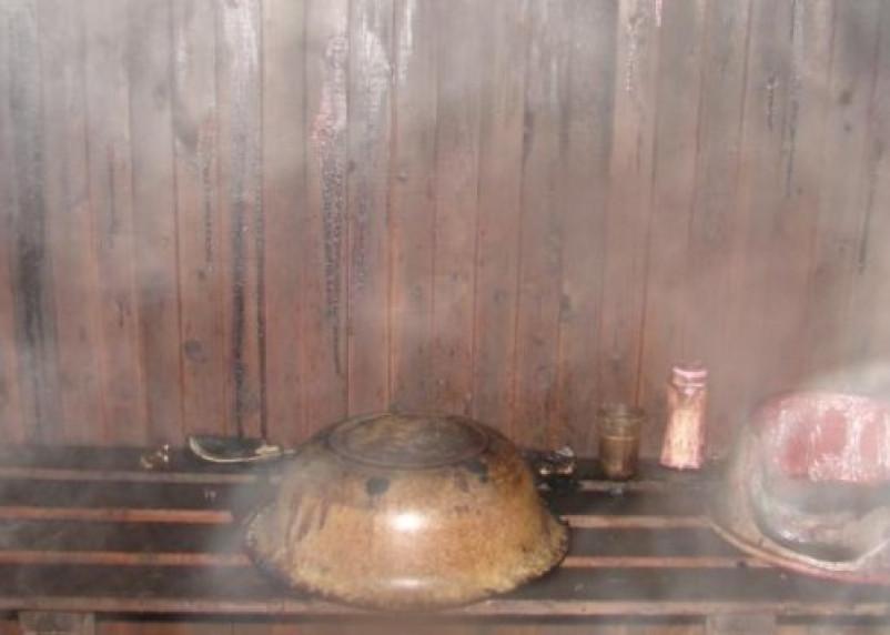 В Смоленском районе отдых в бане чуть не привел к трагедии