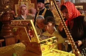 В Смоленск привезут мощи святого князя Владимира