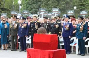 В Смоленске состоялось захоронение Неизвестного солдата. Фоторепортаж