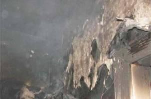 В Смоленской области мужчину спасли из горящей квартиры
