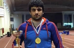 Традиционный всероссийский турнир по вольной борьбе стал победным для смоленского спортсмена