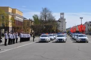 Смоленскую полицию проверили на готовность ко Дню Победы