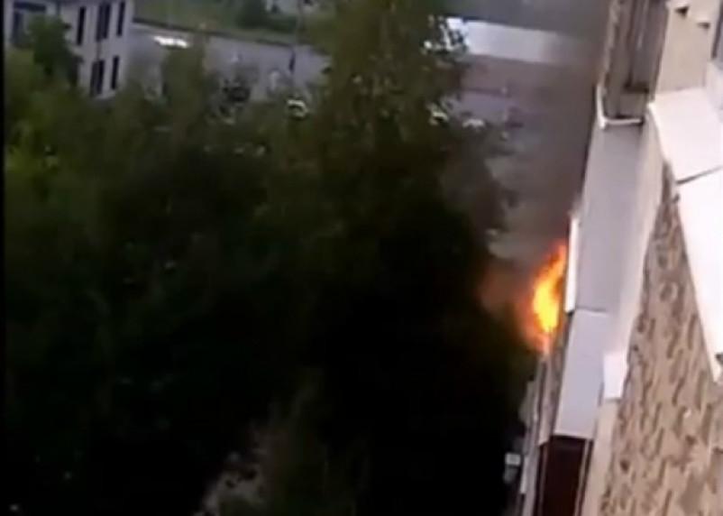 Сгоревшие балкон и кровать – результаты неосторожного курения