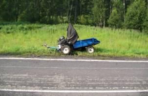 В Смоленской области в ДТП с мотоблоком погибла женщина