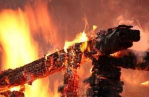 В Смоленске при пожаре погибли два человека