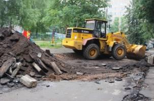 Какие дворы Смоленска отремонтируют этим летом