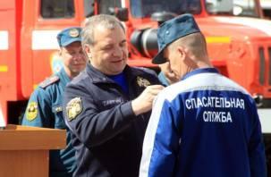Глава МЧС Владимир Пучков посетил Смоленск. Фоторепортаж