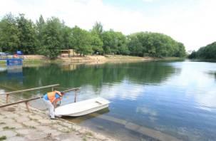 Какие смоленские озера готовы к пляжному сезону. ФОТОРЕПОРТАЖ