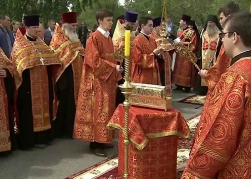Стала известна программа пребывания в Смоленске мощей Георгия Победоносца