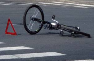 В Смоленске сбили ребенка на велосипеде