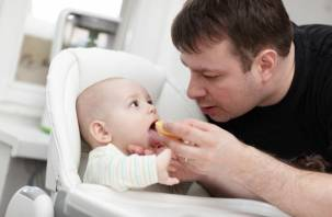 20 смоленских отцов находятся в отпуске по уходу за ребенком
