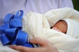 Где в Смоленской области рождаются самые высокие и упитанные малыши