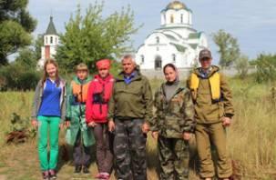 Смоленские и белорусские школьники путешествуют по Днепру