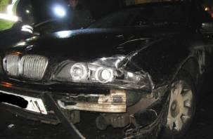 В Смоленске столкнулись два автомобиля
