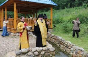 В Смоленской области освятили источник