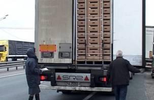 Белорусские товары не пустили в Смоленск