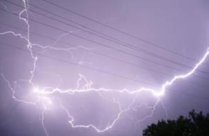 Из–за грозы в Смоленске были перебои с подачей электроэнергии