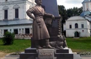 В Смоленске сделали памятник для Великого Устюга