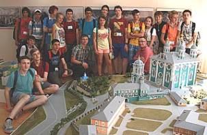 В Смоленске прошли учебные сборы юных географов