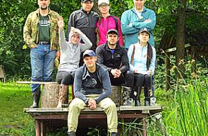 Дипломаты-экологи посетили Поозерье