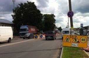 В Смоленске на месяц ограничат движение