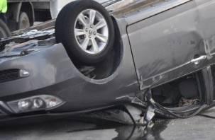 Два человека погибли в ДТП на Досуговском шоссе в Смоленске