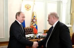Сергей Миронов поднял на встрече с Президентом инициативу смолян