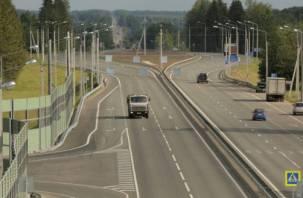 В Смоленской области открыли участок федеральной трассы Р-120