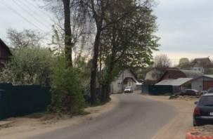 На двух улицах Смоленска введено одностороннее движение