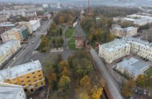 Центр Смоленска остался без света