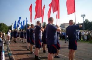 В Смоленске отмечают Всероссийский день физкультурника