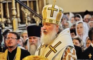 Патриарх Кирилл посетит Смоленск