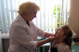 Смоленщина — лидер по количеству детей с хроническими заболеваниями
