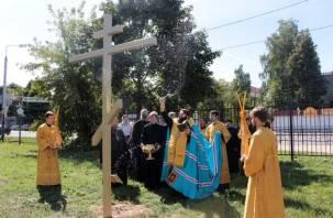 В Смоленске возведут десять храмов